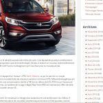 Blogue – lancement du Honda CR-V 2015