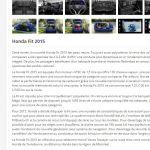 Description de la Honda Fit 2015